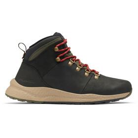 Columbia SH/FT WP Hiker Schoenen Heren, black/red velvet